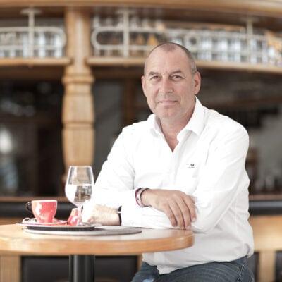 Erwin Schwarz, Inhaber des Alpina Family, Spa & Sporthotel****s in Alpendorf, Salzburger Land