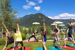 Yoga im Alpina Family, Spa & Sporthotel