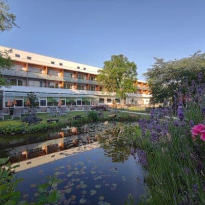 Das Thermalhotel Fontana im Frühling/Sommer